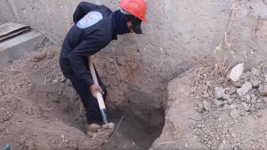 اكتشاف مقبرة جماعية جديدة في حارة البدو داخل مدينة الرقة