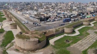 سور الرقة الأثري.. المعروف بسور الرافقة الذي بناه أبو جعفر المنصور