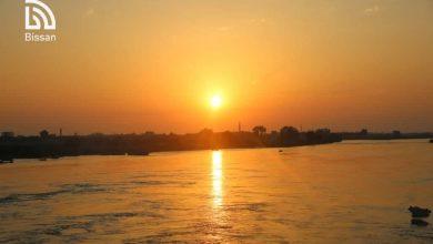 صور من ساعات الصباح الأولى على ضفاف نهر الفرات في الرقة