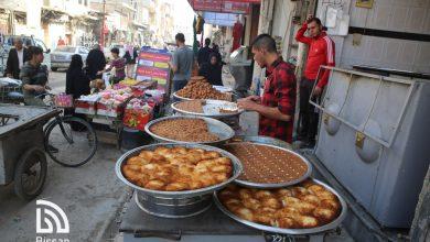 المحلات بشارع القوتلي في#الرقةأو بما يعرف بـ (سوق الشوايا)