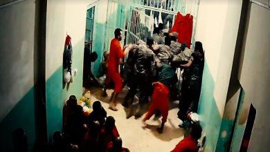 بالفيديو عناصر من داعش يحاولون الهرب بشكل جماعي من أحد السجون في الحسكة