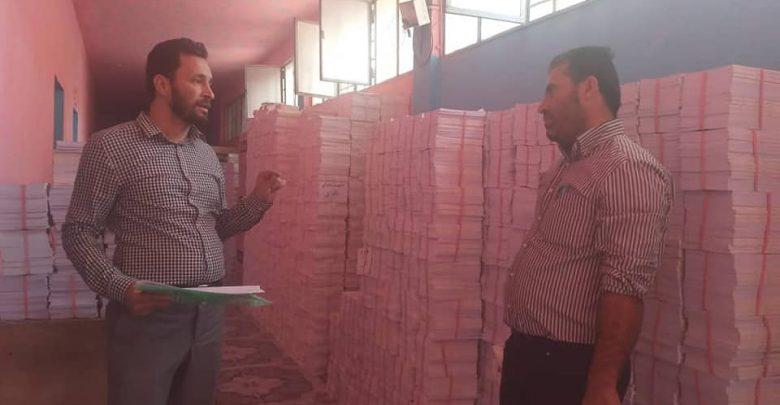 مكتب المدينة التربوي في الرقة يتسلم الدفعة الأولى من الكتب المدرسية