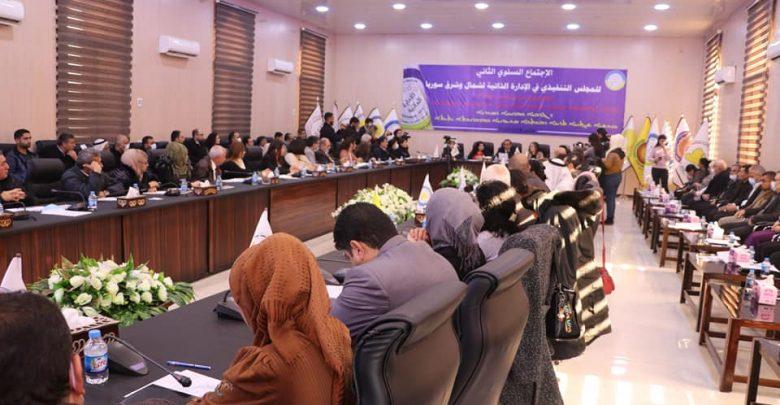 انطلاق الاجتماع السنوي الثاني للمجلس التنفيذي في الإدارة الذاتية