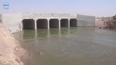 الخدمات الفنية في الرقة تنهي تأهيل جسر عبد الله الخليل