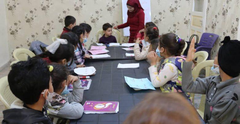 انتهاء المرحلة الأولى من مشروع مسارات لتدريب عدد من الأطفال في الرقة