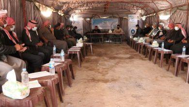 عقد جلستين ضمن مشروع الوساطة المجتمعية شرق دير الزور