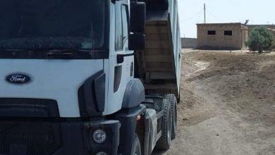 تأهيل 5 طرق في بلدة حمّار العلي غرب دير الزور