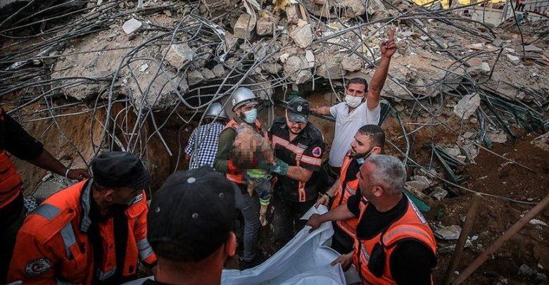 119 قتيلاً في غزة جراء تواصل القصف الإسرائيلي
